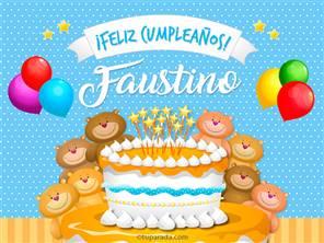 Tarjetas, postales: Faustino