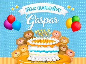 Tarjetas de Gaspar