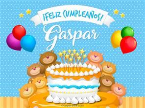 Cumpleaños de Gaspar