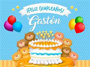 Cumpleaños de Gastón