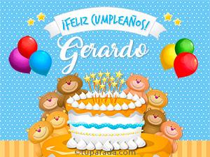 Tarjetas de Gerardo