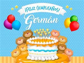 Cumpleaños de Germán