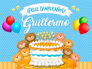 Tarjetas de  Guillermo