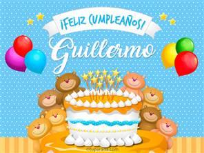 Cumpleaños de Guillermo