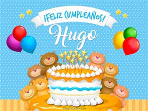 Cumpleaños de Hugo