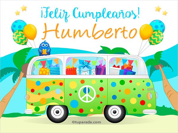 Tarjeta - Nombre Humberto