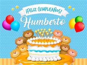 Tarjeta de Humberto