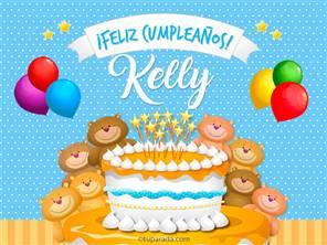 Tarjetas, postales: Kelly