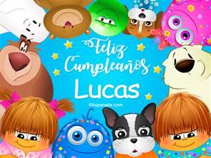 Feliz cumpleaños Lucas