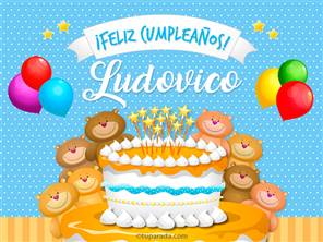 Cumpleaños de Ludovico