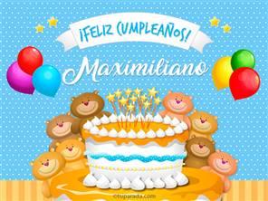 Tarjetas, postales: Maximiliano