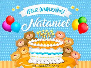 Tarjetas de Nataniel
