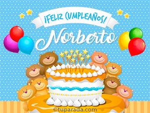 Tarjetas de Norberto