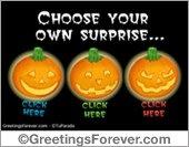 Your Halloween surprise...