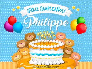 Tarjetas de Philippe