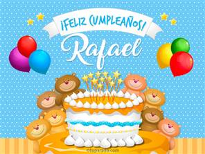 Cumpleaños de Rafael