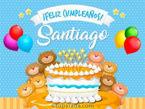 Tarjetas de Santiago