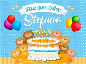 Cumpleaños de Stefano
