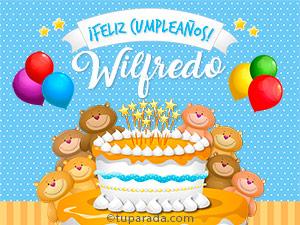 Tarjetas de Wilfredo