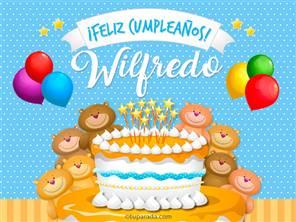 Tarjetas, postales: Wilfredo