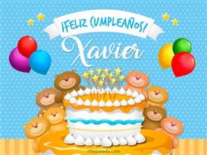 Cumpleaños de Xavier