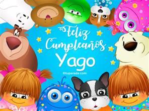 Tarjeta de Yago