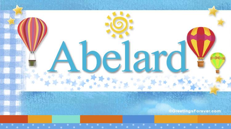 Abelard, imagen de Abelard