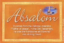 Name Absalom