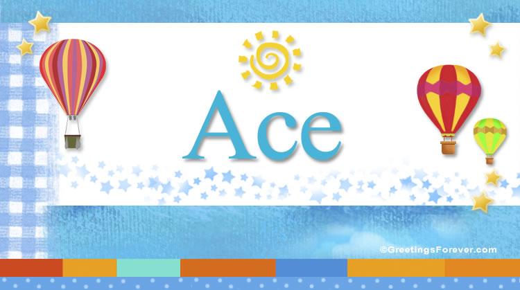 Ace, imagen de Ace