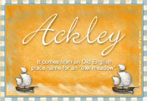 Name Ackley