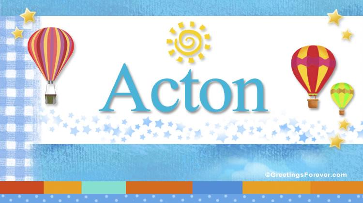 Acton, imagen de Acton