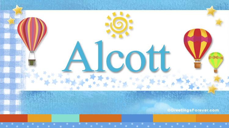 Alcott, imagen de Alcott