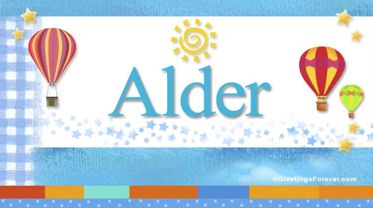 Alder, imagen de Alder