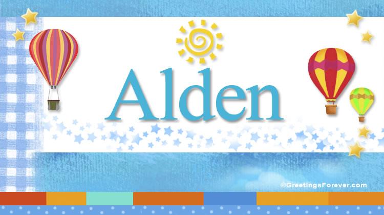 Alden, imagen de Alden