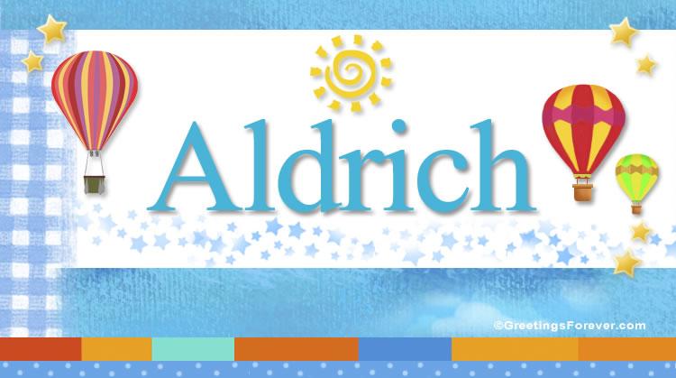 Aldrich, imagen de Aldrich
