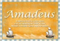 Name Amadeus