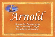 Name Arnold