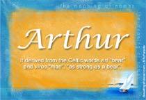 Name Arthur
