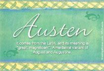 Name Austen