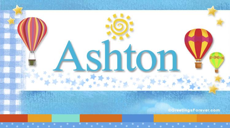 Ashton, imagen de Ashton