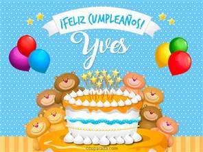 Tarjetas, postales: Yves