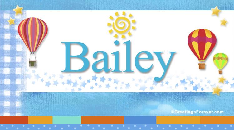 Bailey, imagen de Bailey