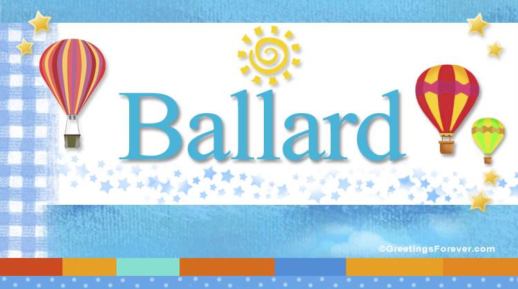 Ballard, imagen de Ballard