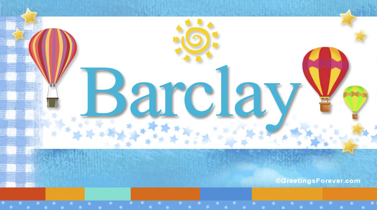 Barclay, imagen de Barclay
