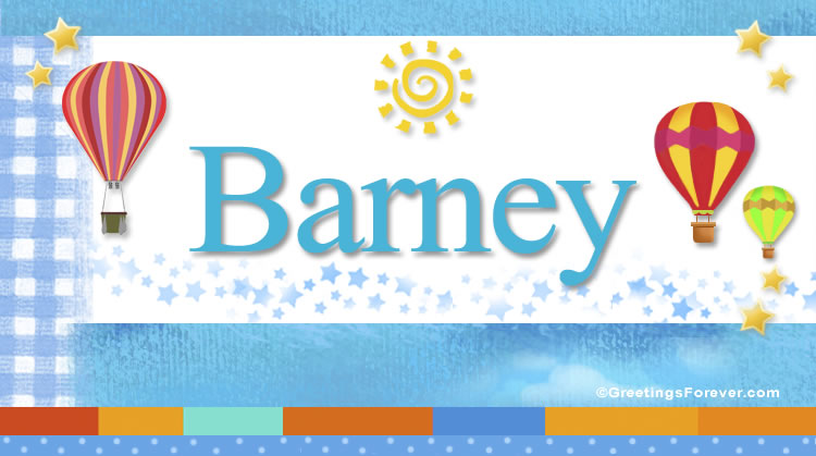 Barney, imagen de Barney