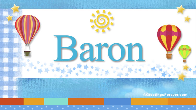 Baron, imagen de Baron