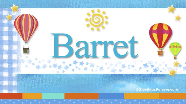 Barret, imagen de Barret