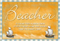 Name Beacher