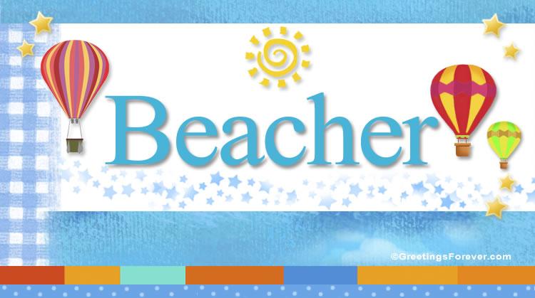 Beacher, imagen de Beacher