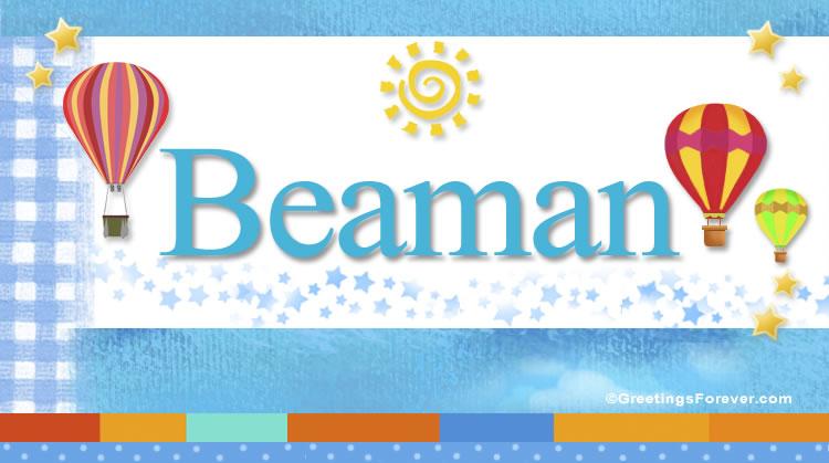 Beaman, imagen de Beaman